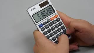 ゲーム電卓「SL 880」でデジタルインベーダーをプレイ