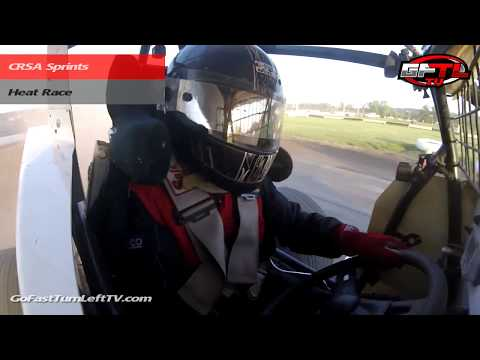Dustin Purdy @ Fonda Speedway - CRSA Sprints - 6/30/18