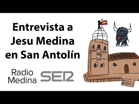 Entrevista a Jesu Medina en San Antolín hablando del vídeo de los Novillos | Radio Medina Cadena SER
