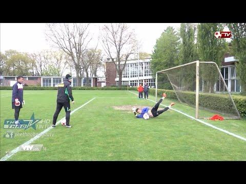 Các thủ môn U20 Việt Nam và bài học quý giá tại Đức