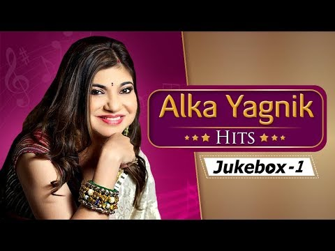 Alka Yagnik Hit Songs HD  Top 10 Hindi Songs  Popular 90s Hit Songs