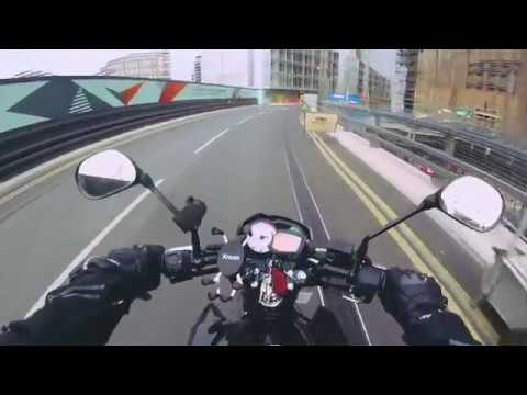 Battersea Power Station & Nine Elms Development - Yamaha YS125