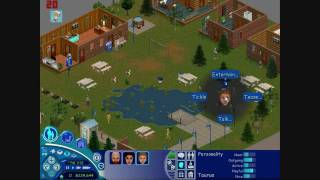 The Sims Vacation Gameplay [HD]