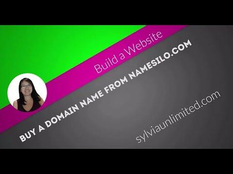 How to Buy a Domain Name at namesilo.com