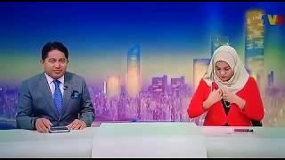 Penyampai Berita TV3 Tak Sedar Mereka Sedang Live Selepas Commercial Break