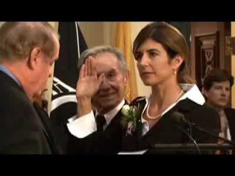 Jennifer Beck sworn in