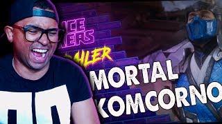 REACT   PARÓDIA MORTAL KOMBAT 11 (VOICE MAKERS)