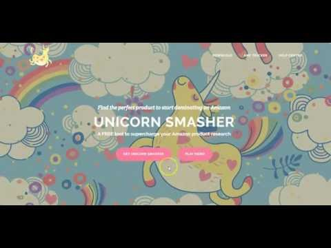 Amazon Product Research Tool / Software FREE  - Unicorn Smasher - Find Hot Selling Amazon Products