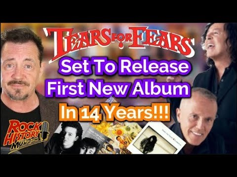 Tears For Fears to Release First Studio album in 14 years