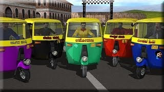 Auto Rickshaw Rash - Android Gameplay HD
