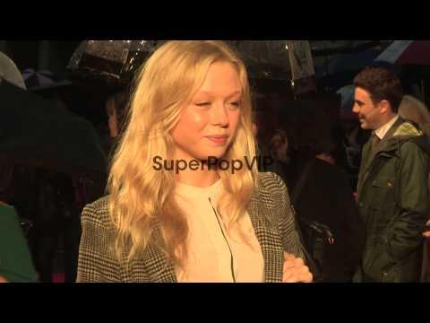 Naomi Battrick at 'Blood' Premiere: BFI 56th London Film ...