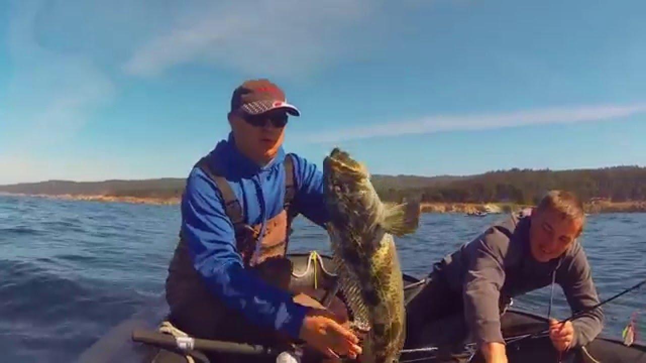 San francisco fishing for lingcod bodega bay youtube for Bodega bay fishing reports