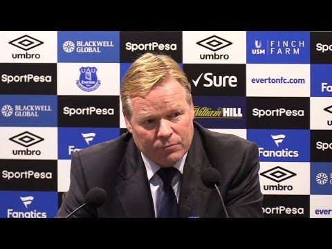 Everton 0-3 Tottenham - Ronald Koeman Full Post Match Press Conference - Premier League