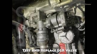 EGR Valve Diagnostic, Mercedes Engine 2010 MBE906
