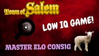 LOWEST IQ PLAYERS IN MASTER? Town of Salem | MASTER ELO CONSIG