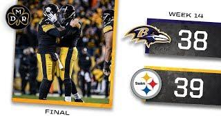 Baltimore Ravens vs Pittsburgh Steelers Week 14 SNF Recap | Steelers Keep Rolling! thumbnail
