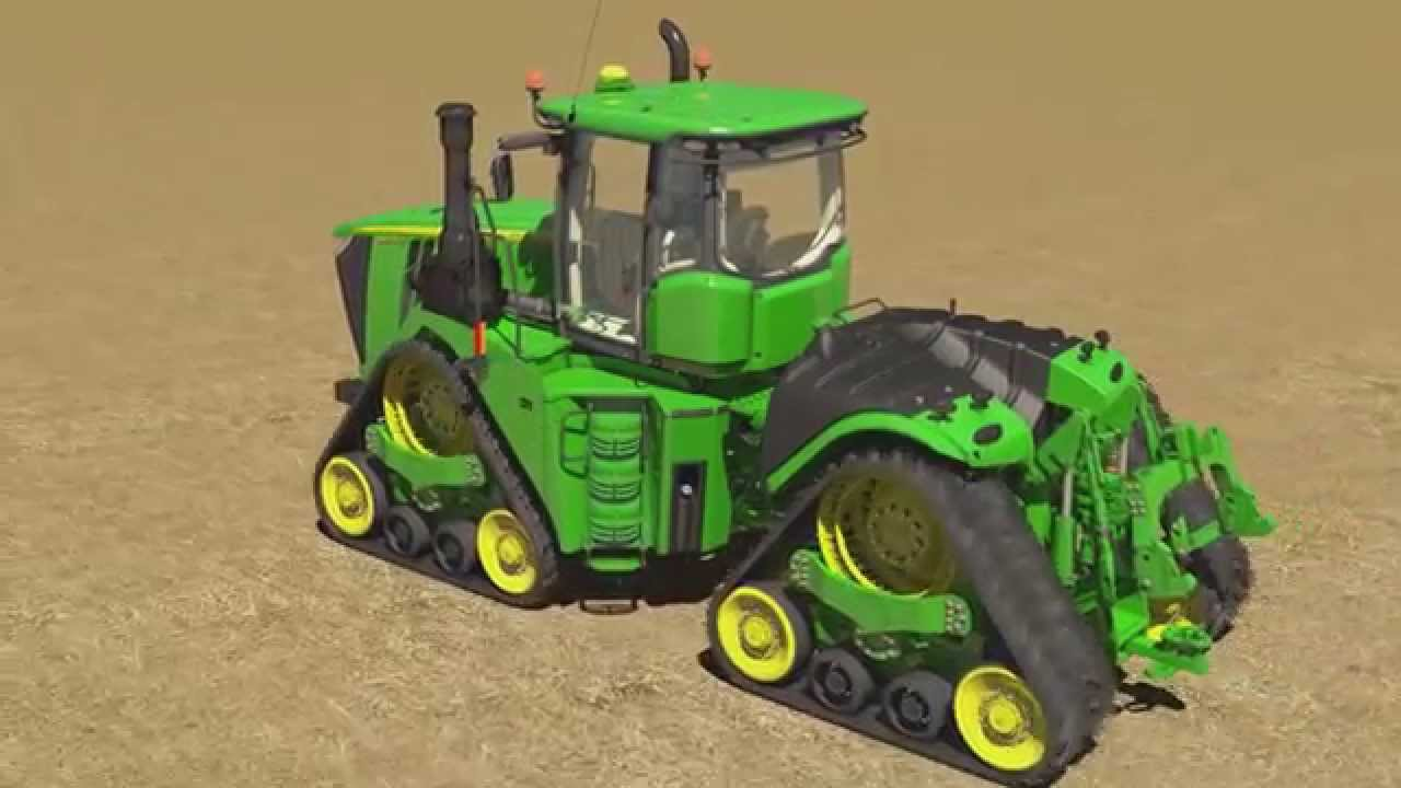 animation du tracteur john deere 9rx youtube. Black Bedroom Furniture Sets. Home Design Ideas
