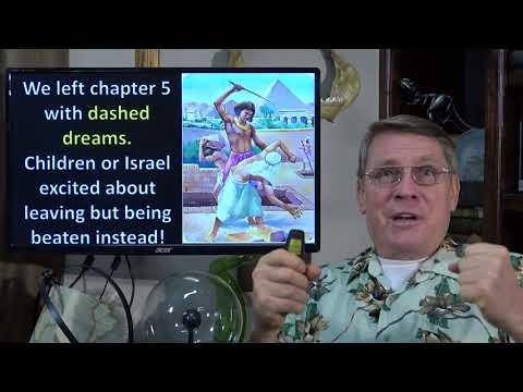 Dr. Kent Hovind 1-8-2018 Exodus Chapter 6  Plans dashed? See what God can do.