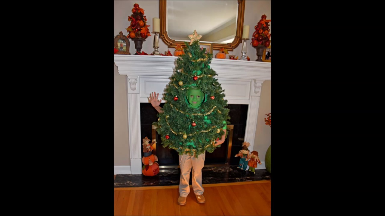 Christmas tree costume work in progress youtube