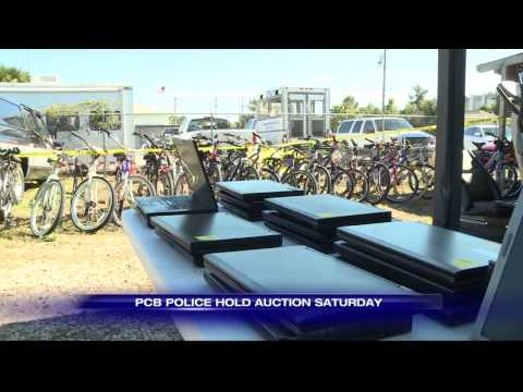 Panama City Beach Police Hold Auction Saturday
