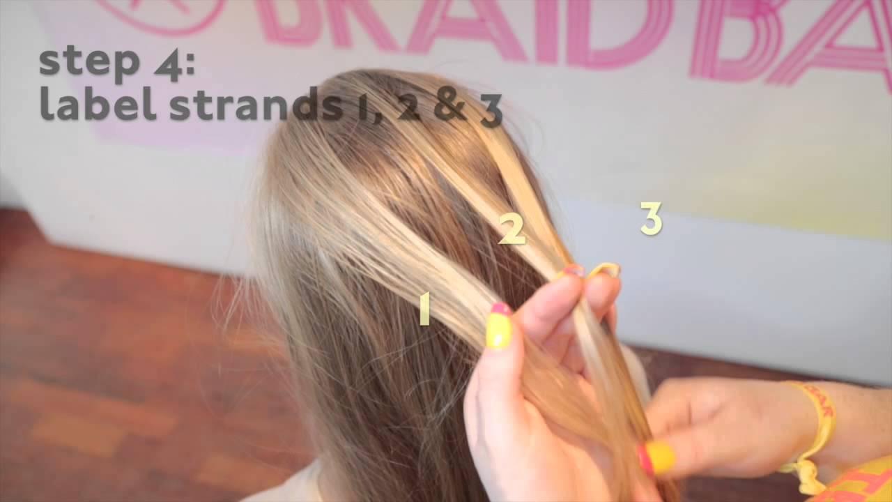 Basic Braid Tutorials: Simple French Braid By The Braid Bar