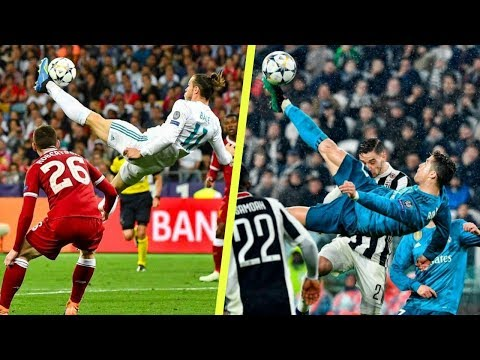 Top 5 Bicycle Kick Goals in Football 2018 ft Bale & Ronaldo