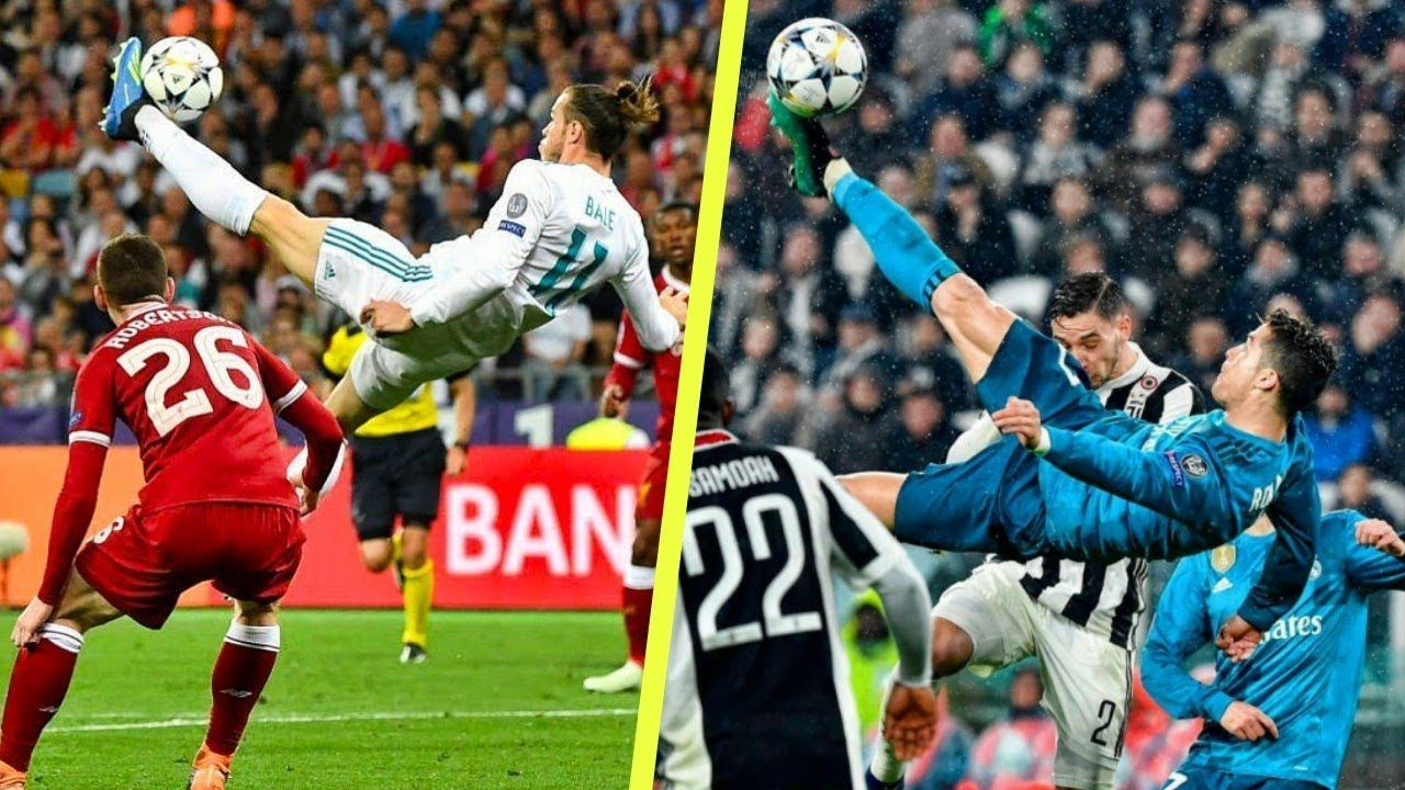 Image result for bale and ronaldo bicycle kick
