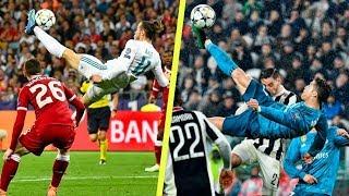Top 5 Bicycle Kick Goals in Football 2018 ft Bale amp Ronaldo