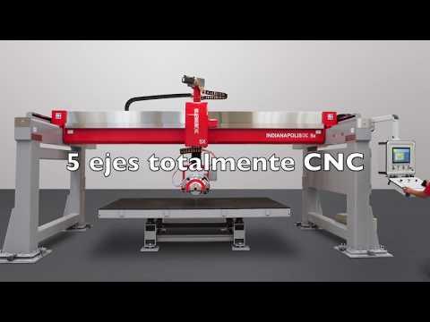 De La Cruz Stone Technology: Cortadora Millennium CNC 5X Indianápolis
