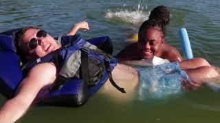 Quadriplegic Goes Swimming!