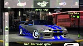 NFS Underground 2 Nissan Skyline z Fast and Furious