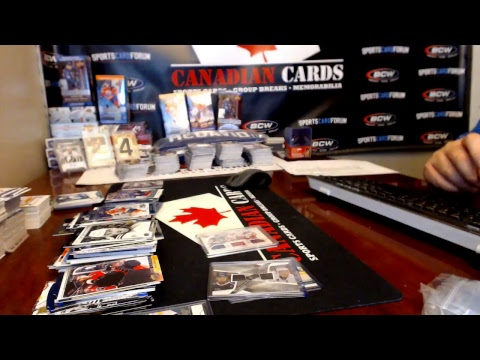 SportsCardForum.Com Exclusive Break #277A 11 Box Break