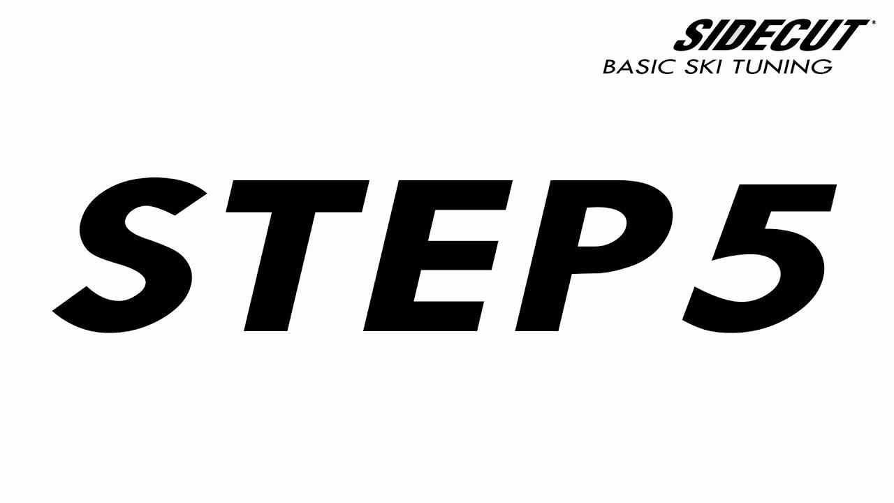 05 Ski Tuning Basic - step 5 Side Edges
