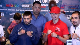 Lucas Matthysse vs. Viktor Postol full video-Complete final press conference & face off video