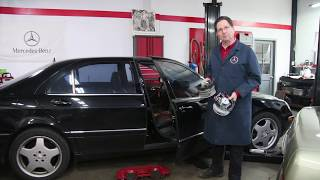A Top 10 Alert for Mercedes W220 Owners: How to Prevent Costly Water Damage