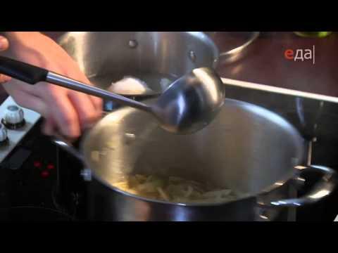 Сырный крем суп пошаговый