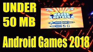 Best Android games offline 2018 under 50 MB