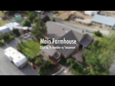 Unique Organic Farm & Ranch  - Sunnyside, WA - Movie Trailer in 4k