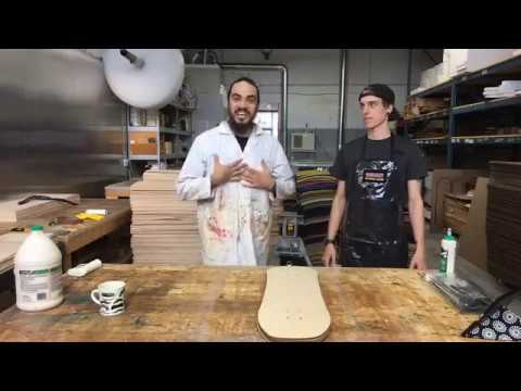 Roarockit // Facebook Live //How to build a old school skateboard using the Thin Air Press