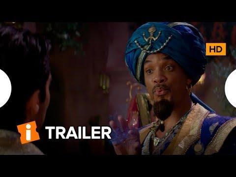 Assista o Novo Trailer de ALLADIN da Disney com Holofote em Will Smith