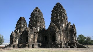 Exploring Monkey Temple in Lopburi, Thailand