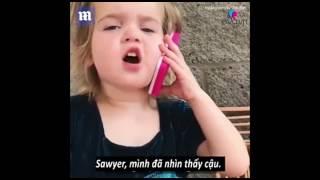 Gặp gỡ cô bé 3 tuổi người Mỹ đang là hiện tượng mạng với những clip siêu diễn sâu