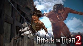 [18+] Шон играет в Attack on Titan 2 (PS4 Pro, 2018)