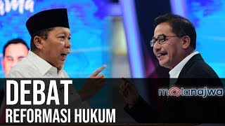 Download Video Jelang Ronde Pertama: Debat Reformasi Hukum (Part 1) | Mata Najwa MP3 3GP MP4