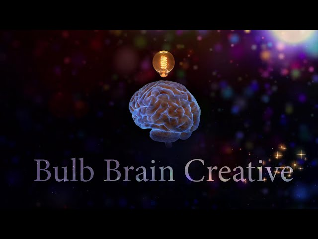 BulbBrainCreativeLogo BulbAndBrainbow