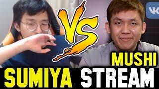 when SUMIYA meets MUSHI in Solo MMR | Sumiya Invoker Stream Moment #626