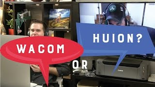 Wacom Tablet vs. Huion Graphics Tablet: Can a cheap tablet compete?