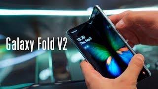 Смотрим на новый Galaxy Fold!
