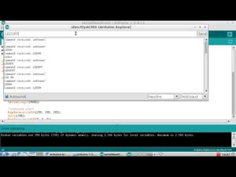Arduino Detect String Command From Serial Port