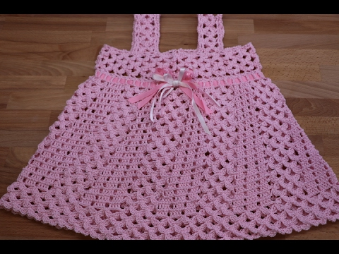 crochet vestidos para ni as paso a paso youtube. Black Bedroom Furniture Sets. Home Design Ideas